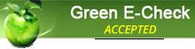 Green eCheck