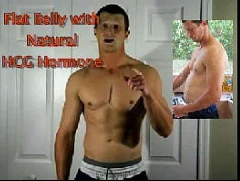 Men Lose Belly Fat on HCG Diet Drops