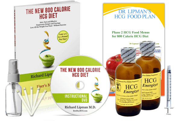 HCG Energizer (Hormone Free) with Amino Acids & African Mango – 60 Days