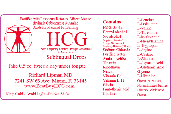 Superior HCG with Amino Acids, African Mango, & Raspberry Ketones – 60 Days Image 3