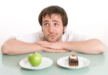 Man on a Diet