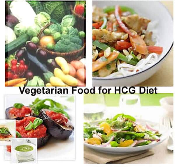 Vegetarian Food For the HCG Diet