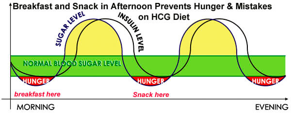 Skipping Breakfast Slows Weight Loss on the HCG Diet Plan