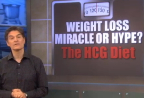 Dr. Oz on the HCG Diet