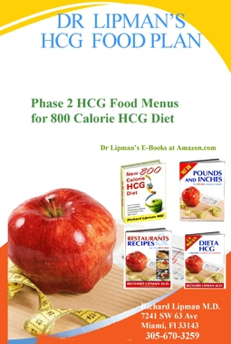 800 calorie hcg protocol