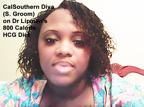 CalsouthernDiva tells her experience on Dr Lipman's 800 calorie hcg diet