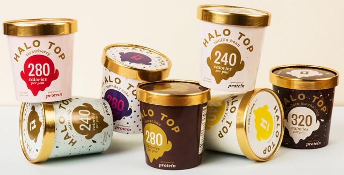 Halo top new Ice cream for HCG diet