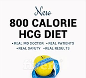 New 800 Calorie HCG diet; book updates original hcg diet